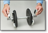 Pace Weights let you pace your weight increments.