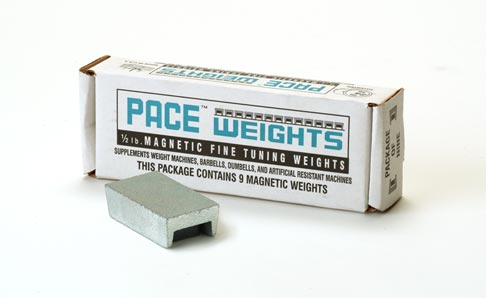 9 Piece Pace Weight Set (4.5 Pounds) Without Case